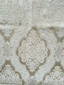 Vintage,Brokatvorhang,Baumwolle