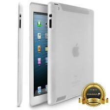 Flexible Slim TPU Soft Silicone Frosted Case Cover Skin for Apple iPad 4 3 2 Gen