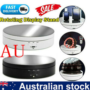 360° Rotating Jewelry Photography Show Holder - Electric Turntable Display Stand