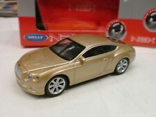 WELLY 1/43 - BENTLEY CONTINENTAL GT