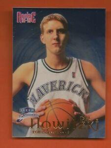 DIRK NOWITZKI - 1998-99 Fleer Brilliants #109B Blue Rookie - Dallas Mavericks