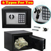 Electronic Digital Home Safe Box Keypad Lock Home Office Hotel Money Security ~~