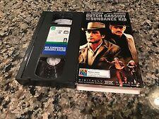 Butch Cassidy And The Sundance Kid Rare VHS! 20th Century Fox 1969 Paul Newman!