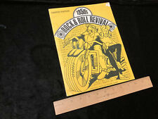 1950's Rock & Roll Revival 1969 Richard Nader Music Production Consultants Rare!