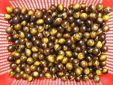 50 NATURAL tigereye quartz crystal sphere ball healing