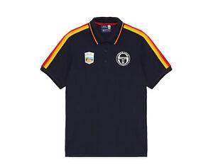 Sergio Tacchini Carter MC Staff Polo Navy/Wht Rolex Men's Shirt STM038116-0200