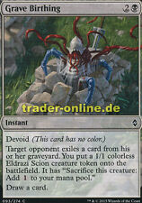 4x grave Birthing (grabgeburt) Battle for zendikar Magic