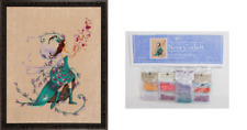 Nora Corbett Mirabilia Cross Stitch PATTERN&EMBELLISH Pack LEAF COLLECTOR NC215