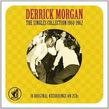 Derrick Morgan The Singles Collection 1960 - 1962 SKA 2 CD Set Fat Man & More