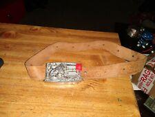 1959 Mattel Remington Derringer 1867 Belt Buckle with belt