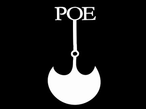 EDGAR POE PIT AND THE PENDELUM Vinyl Decal Car Wall Sticker CHOOSE SIZE COLOR
