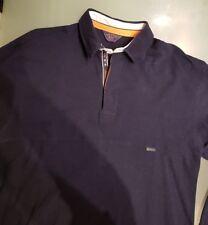 Paul & Shark Herren Pullover Sweater Polo Shirt Gr. M   Blau navy