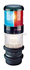 AQUASIGNAL 40 Anchor Light Flash Strobe Tri-colour quicfits 12V