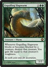 Wurm of Waste Overwhelming - Engulfing Slagwurm MTG Magic Som Eng