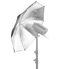 "Neewer Photo Studio 36"" Nylonx Black/Silver Reflective Lighting Umbrella"