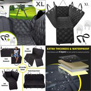 Meadowlark Dog Seat Covers Unique Design & Full X-Large (Pack of 1), Black