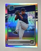 2020 Donruss Optic Rated Rookies Holo #31 Bryan Abreu - Houston Astros