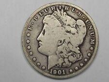 Better-Date 1901-o Silver US Morgan Dollar.  #5