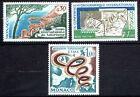 MONACO. Lot de 3 timbres. 1967 - Y&T N° 723+728+731 cote 2,10€