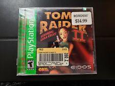 New Tomb Raider Ii Starring Lara Croft Sony PlayStation 1 1999 Factory Sealed