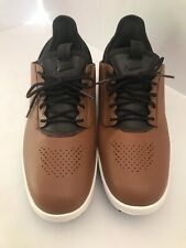 Nike Air Zoom Direct Size 9 Light British Tan Brown Golf Shoes 923965-200