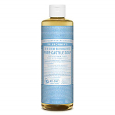 DR BRONNERS Organic Baby Pure Castille Liquid Soap 473ml PACK OF 1
