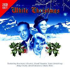 WHITE CHRISTMAS 2 CD SET * VERY GOOD * 36 SEASONAL HIT SONGS * DISCS ARE NEW