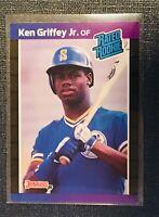1989 KEN GRIFFEY JR Donruss Rated Rookie  Baseball Card # 33 - Seattle Mariners