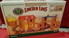 Lincoln Logs Redwood Junction * New & Sealed * Oop Train Set (235 pcs)