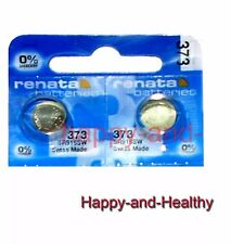 New Renata SR916SW 373 Silver Oxide button Battery x 2 pcs Swiss Made FREE Post