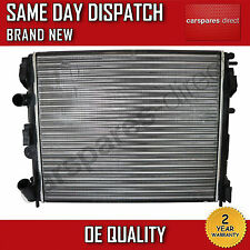 RENAULT CLIO / KANGOO / LOGAN AUTOMATIC/MANUAL RADIATOR 1997>ONWARDS *BRAND NEW*