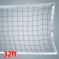 32 ft Portable Volleyball Net Set Outdoor Indoor Beach Backyard No Poles System