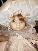 "Pauline Bjonness-Jacobsen Limited Edition Doll ""Rose"" No 1072 Of 1500"