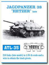Friulmodel Metal Tracks for 1/35 Jagdpanzer 38 Hetzer Late (210 links)