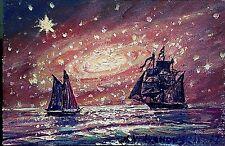 4/6 IN.oil painting original.cardboard. A.Vodyanovskii .russian art.plain air.