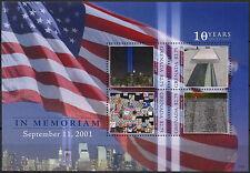 Grenada 2011 In Memoriam September 11th MNH M/S #A91802