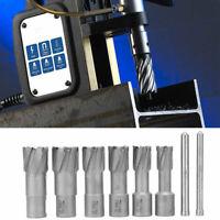 """6pcs/Set Annular Cutter Cobalt 3/4 inch Weldon Shank 11/16"""" Magnetic Drill Bit"""