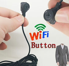 Phone WIFI Button Built-in battery wireless IP mini DIY HD camera Video recorder