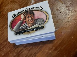 2020 Upperdeck Goodwin Champions Base Card Lot!! 50+ Gretzky, Tiger, Ben Simmons