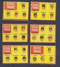 1962 TOPPS ROOKIE PARADE Bouton Belinsky SP HIGH #592 VGEX tiny faint crease