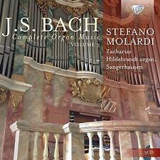 STEFANO MOLARDI - COMPLETE ORGAN MUSIC,VOL.3 3 CD NEUF++ BACH,JOHANN SEBASTIAN
