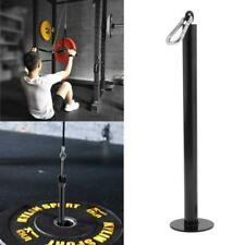 Premium Olympic Weight Plate Loading Pin Fitness LAT Cable Pulley System DIY