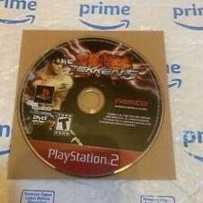 Tekken 5 Disc (Sony PlayStation 2, 2005) PS2 Disc Only
