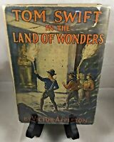 Tom Swift In The Land Of Wonders By Victor Appleton 1ST ED. 1917 W/ DJ COLLECTOR
