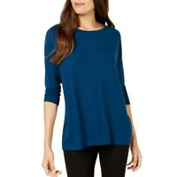 ALFANI NEW Women's 3/4 Sleeve Casual Shirt Top TEDO
