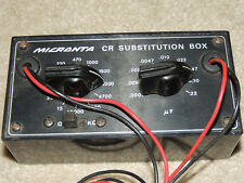 Micronta Cr Substitution Box-Resistor And Capacitor