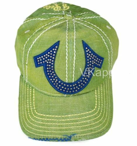 new style 1673b 3ef55 ... best price see how much you could get for your true religion green  unisex baseball caps