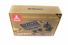 Atari Flashback 8 Gold Deluxe with 120 Games - Includes 2 Controllers + Paddles