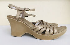 Hush Puppies Women's Sandals Shoes Wedge Platform Comfort Ankle Strap Leather 8
