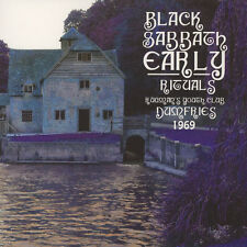 BLACK SABBATH - Early Rituals - Rugmans Youth Club, Dumfries 1969 LP Witch House
